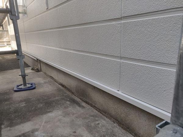 群馬県前橋市 ㈱P様貸店舗 外壁塗装・屋根塗装 重ね塗りの理由 ガイソーウォールカチオンシーラー・ガイソーウォールマイティシリコン (3)