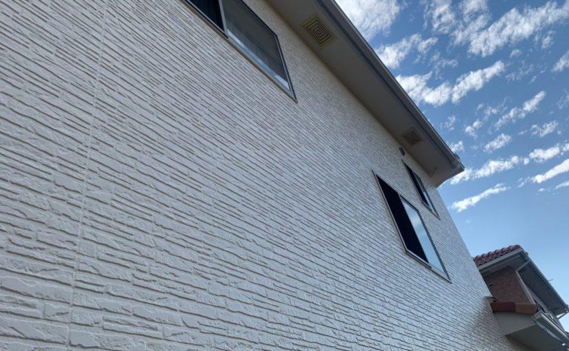 群馬県佐波郡玉村町 K様邸 外壁塗装 外壁塗装の目的とは 無機系塗料 ダイヤスーパーセランフレックス (3)