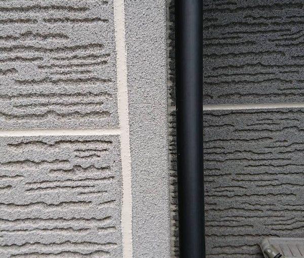 群馬県前橋市 K様邸 外壁塗装・付帯部塗装 雨樋塗装の工程 長期間の放置は割れに繋がります! (7)