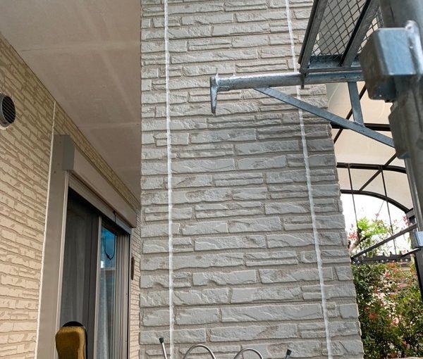 群馬県佐波郡玉村町 K様邸 外壁塗装 シーリング(コーキング)工事 プライマーとシーリングの相性 (2)