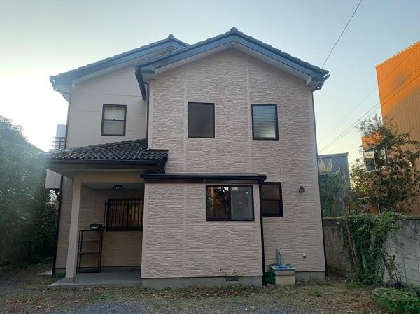 群馬県前橋市 K様邸 外壁塗装・付帯部塗装 塗料の種類 水谷ペイント ナノコンポジットW