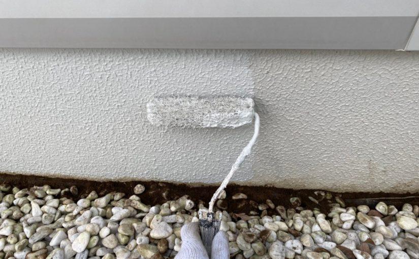 群馬県前橋市 O様邸 外壁塗装・付帯部塗装 下塗りの重要性 施工不良が起きる原因 (1)