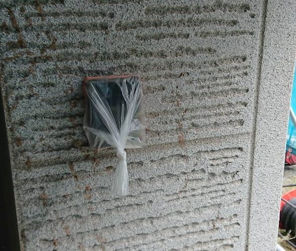 群馬県前橋市 K様邸 外壁塗装・付帯部塗装 高圧洗浄 養生を行い理由 (1)