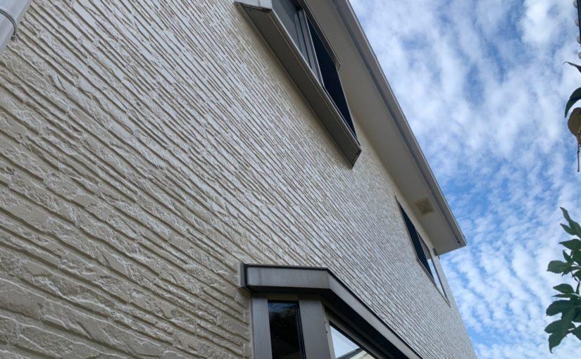 群馬県佐波郡玉村町 K様邸 外壁塗装 外壁塗装の目的とは 無機系塗料 ダイヤスーパーセランフレックス (2)