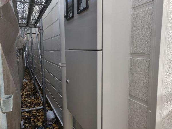 群馬県前橋市 ㈱P様貸店舗 外壁塗装・屋根塗装 シーリング(コーキング)工事 クラック補修 (8)