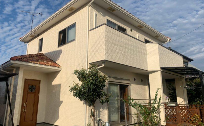 群馬県佐波郡玉村町 K様邸 外壁塗装 外壁塗装の目的とは 無機系塗料 ダイヤスーパーセランフレックス (1)