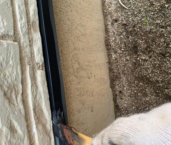 群馬県佐波郡玉村町 K様邸 外壁塗装 土台水切り塗装 日本ペイント ハイポンファインデクロ ファインSi (2)