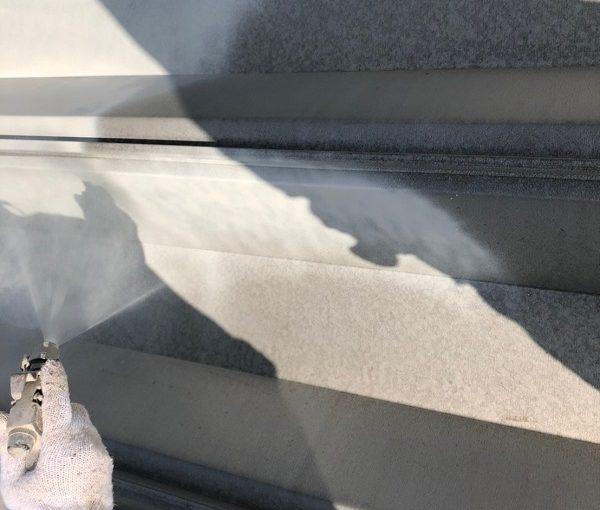 群馬県前橋市 K様邸 外壁塗装・付帯部塗装 高圧洗浄 養生を行い理由 (4)