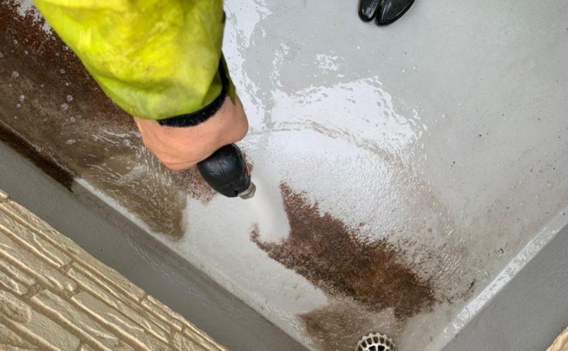 群馬県佐波郡玉村町 K様邸 外壁塗装 バイオ高圧洗浄 ガイソーパワークリーナー (3)