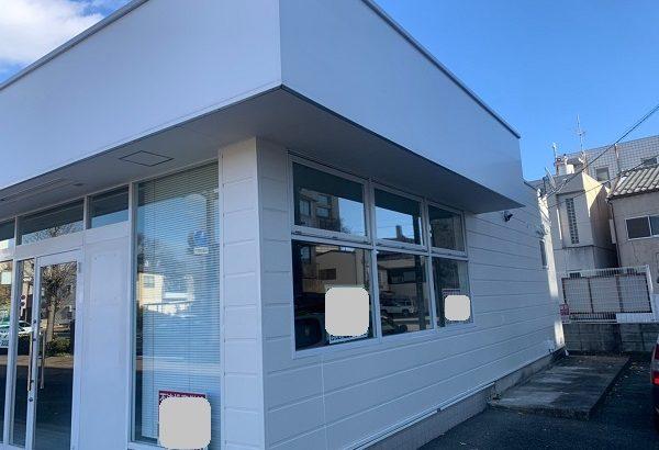 群馬県前橋市 ㈱P様貸店舗 外壁塗装・屋根塗装・付帯部塗装