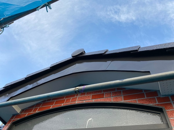 群馬県前橋市 T様邸 外壁塗装・屋根塗装・付帯部塗装 軒天塗装 ジョンキングNAD2
