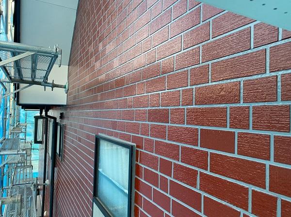 群馬県前橋市 T様邸 外壁塗装・屋根塗装・付帯部塗装 玄関柱・玄関灯・サッシ塗装 工程 (9)
