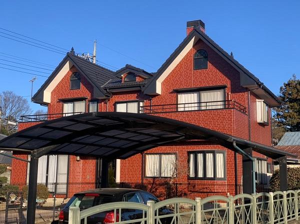 群馬県前橋市 T様邸 外壁塗装・屋根塗装・付帯部塗装 完工 定期訪問サポート (1)