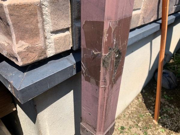 群馬県前橋市 N様邸 外壁塗装 屋根塗装 無料現場調査 チョーキング現象 塗膜の剥がれ シーリング硬化1 (1)