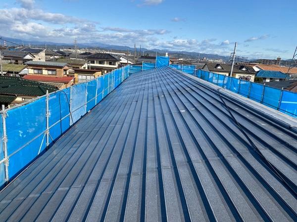 群馬県太田市 Sアパート 外壁塗装・屋根塗装 足場組み立て 高圧洗浄 (8)