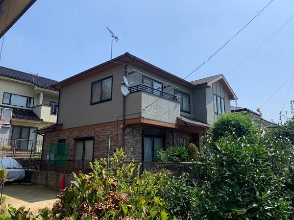 群馬県前橋市 N様邸 外壁塗装 屋根塗装 付帯部塗装 (2)