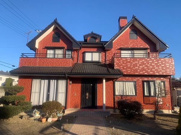 群馬県前橋市 T様邸 外壁塗装・屋根塗装・付帯部塗装 完工 定期訪問サポート (2)