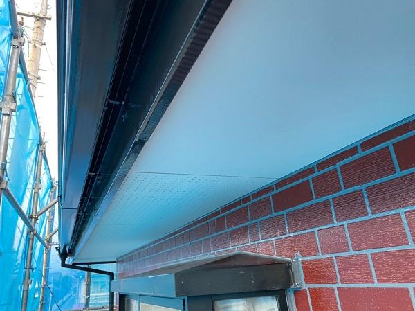 群馬県前橋市 T様邸 外壁塗装・屋根塗装・付帯部塗装 軒天塗装 ジョンキングNAD (3)