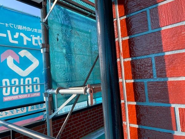 群馬県前橋市 T様邸 外壁塗装・屋根塗装・付帯部塗装 雨樋・鼻隠し塗装 (4)