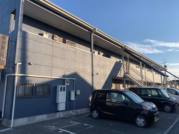 群馬県太田市 Sアパート 外壁塗装・屋根塗装 完工 施工後の写真 (1)