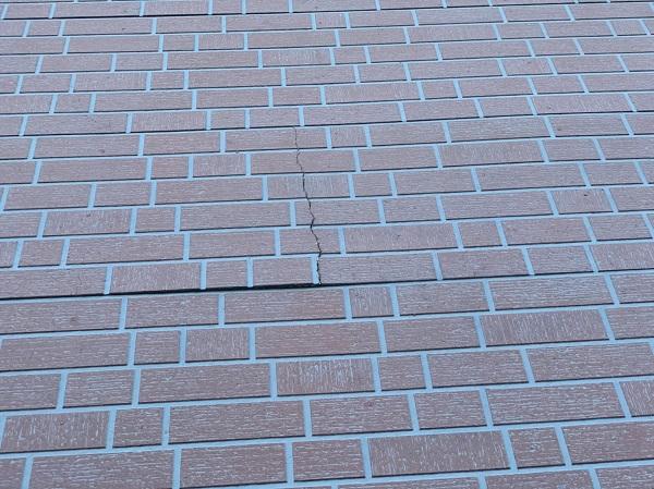 群馬県前橋市 T様邸 外壁塗装・屋根塗装・付帯部塗装 施工前 現場調査 劣化症状 (5)