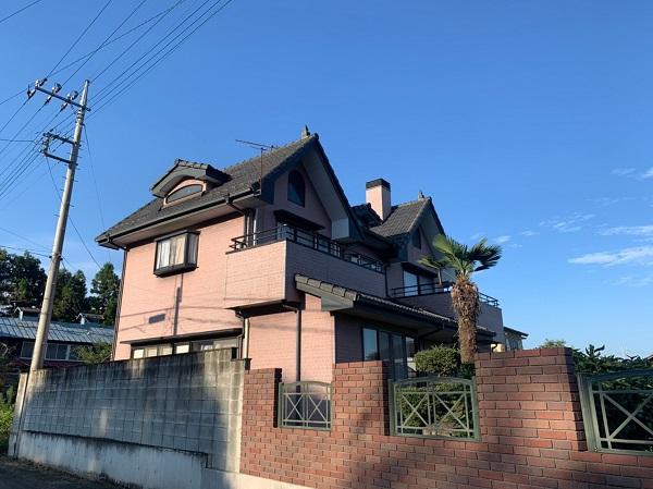 群馬県前橋市 T様邸 外壁塗装・屋根塗装・付帯部塗装 施工前 現場調査 劣化症状 (9)