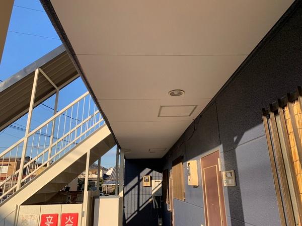 群馬県太田市 Sアパート 外壁塗装・屋根塗装 完工 施工後の写真 (4)