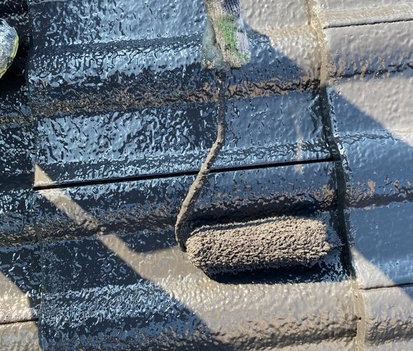 群馬県前橋市 T様邸 外壁塗装・屋根塗装・付帯部塗装 ガイソーウォールルーフシーラーストロング ガイソールーフガードフッ素 (4)