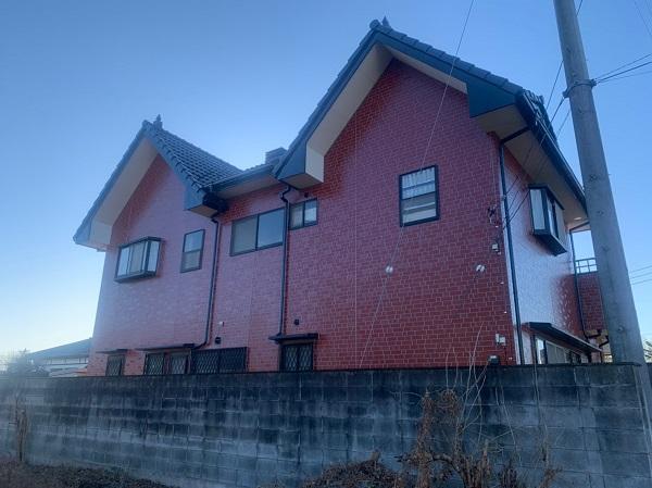 群馬県前橋市 T様邸 外壁塗装・屋根塗装・付帯部塗装 完工 定期訪問サポート (5)