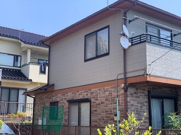 群馬県前橋市 N様邸 外壁塗装 屋根塗装 付帯部塗装 (4)