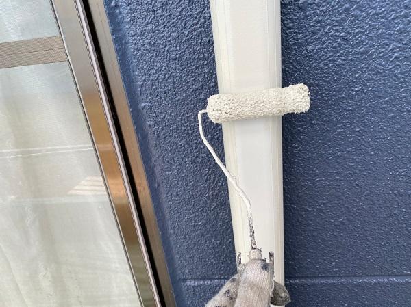 群馬県太田市 Sアパート 外壁塗装・屋根塗装 雨樋、柱、エアコンホースカバー塗装 (7)