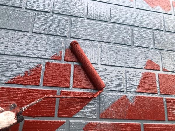 群馬県前橋市 T様邸 外壁塗装・屋根塗装・付帯部塗装 ガイソーウォールカチオンシーラーNEO ガイソーウォールフッ素4FII (6)
