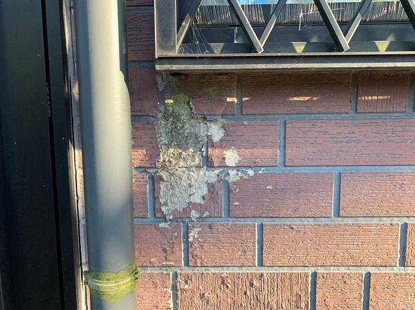 群馬県前橋市 T様邸 外壁塗装・屋根塗装・付帯部塗装 施工前 現場調査 劣化症状 (3)