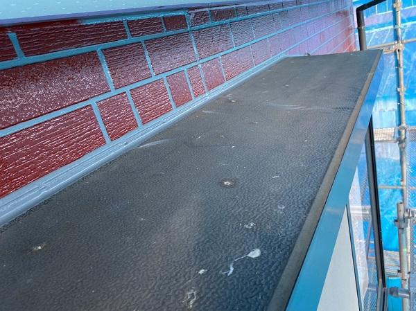 群馬県前橋市 T様邸 外壁塗装・屋根塗装・付帯部塗装 出窓の上 換気フード (4)