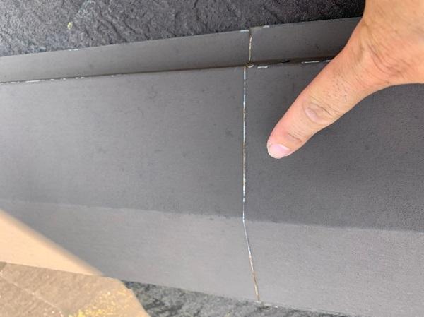 群馬県前橋市 N様邸 外壁塗装 屋根塗装 無料現場調査 チョーキング現象 塗膜の剥がれ シーリング硬化 (4)