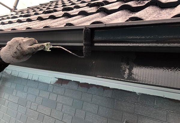 群馬県前橋市 T様邸 外壁塗装・屋根塗装・付帯部塗装 雨樋・鼻隠し塗装 (9)