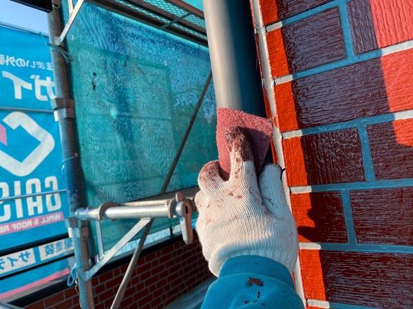 群馬県前橋市 T様邸 外壁塗装・屋根塗装・付帯部塗装 雨樋・鼻隠し塗装 (2)
