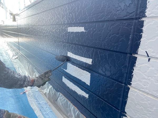 群馬県太田市 Sアパート 外壁塗装・屋根塗装 GWフィーラー微弾性 ガイソーウォールマイティシリコン (4)