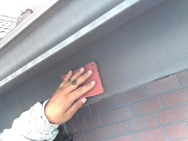群馬県前橋市 T様邸 外壁塗装・屋根塗装・付帯部塗装 雨樋・鼻隠し塗装 (11)