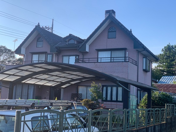 群馬県前橋市 T様邸 外壁塗装・屋根塗装・付帯部塗装 施工前 現場調査 劣化症状 (10)