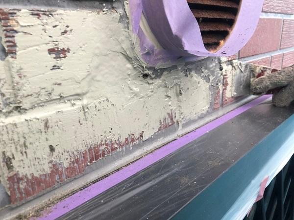 群馬県前橋市 T様邸 外壁塗装・屋根塗装・付帯部塗装 剥がれた外壁の補修 塗装工事を行う目的 (2)