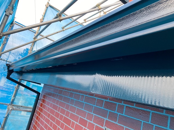 群馬県前橋市 T様邸 外壁塗装・屋根塗装・付帯部塗装 雨樋・鼻隠し塗装 (8)