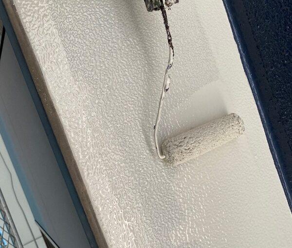 群馬県太田市 Sアパート 外壁塗装・屋根塗装 笠木塗装 GTエポプライマー (7)