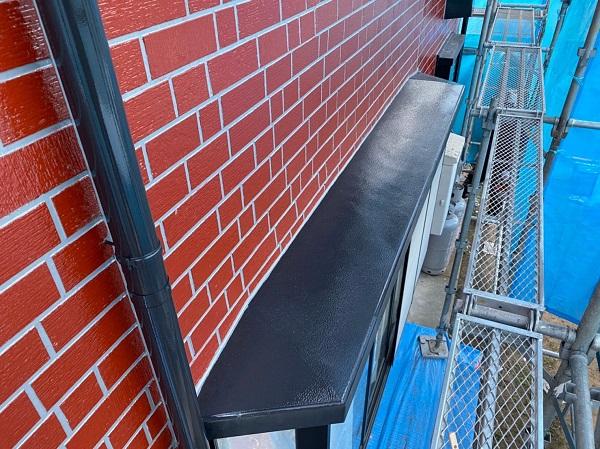 群馬県前橋市 T様邸 外壁塗装・屋根塗装・付帯部塗装 出窓の上 換気フード (7)