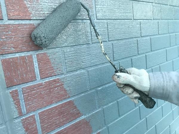 群馬県前橋市 T様邸 外壁塗装・屋根塗装・付帯部塗装 ガイソーウォールカチオンシーラーNEO ガイソーウォールフッ素4FII (5)