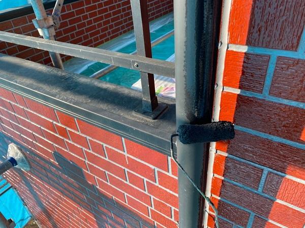群馬県前橋市 T様邸 外壁塗装・屋根塗装・付帯部塗装 雨樋・鼻隠し塗装 (3)