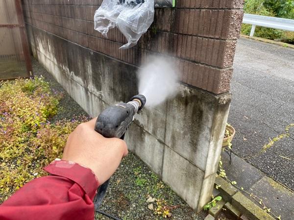 群馬県桐生市 S様邸 外壁塗装・付帯部塗装 下地処理 バイオ高圧洗浄 ガイソーパワークリーナー (6)