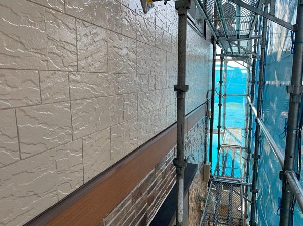 群馬県前橋市 N様邸 外壁塗装 屋根塗装 付帯部塗装 外壁2階塗装 ガイソーウォール無機フッ素 (6)