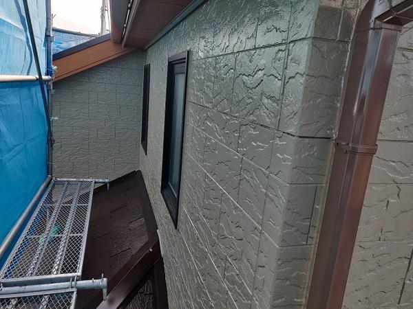 群馬県前橋市 N様邸 外壁塗装 屋根塗装 付帯部塗装 外壁2階塗装 ガイソーウォール無機フッ素 (3)