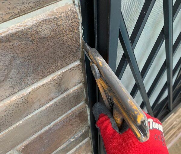 群馬県前橋市 N様邸 外壁塗装 屋根塗装 シーリング(コーキング)工事の手順 オートンイクシード (9)
